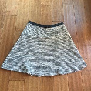 Anthropologie Rue 58 Tweed Mini Skirt-NWOT